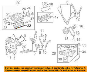 land rover oem 05 09 lr3 engine intake manifold gasket 4628235 ebay rh ebay com
