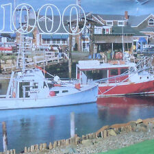 jigsaw puzzle 1000 pc Guild Perkins Cove Maine Harbor Mountain Tops Resort Shops