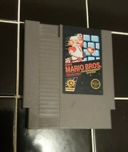 Super-Mario-Bros-Nintendo-NES-Video-Game-Cart-5-Screw-Authentic-Tested-Works