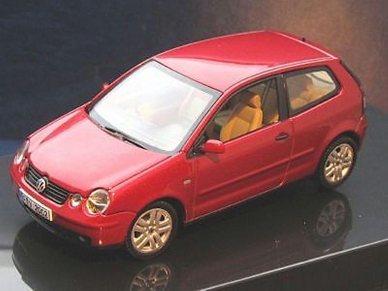 VOLKSWAGEN VW POLO 4 MURANoruge MURANoruge MURANoruge PERLEFF AUTOart 59767 1 43 ROUGE rouge rouge rouge d0d2f0