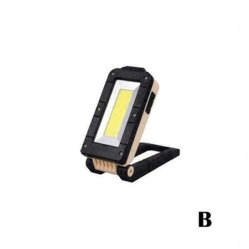 Wiederaufladbare Magnetic Cob Led Arbeits Licht Lampe Inspection Folding