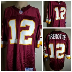 the best attitude 969f0 4dade Washington Redskins Frerotte Jersey # 12 NFL Authentic Team ...