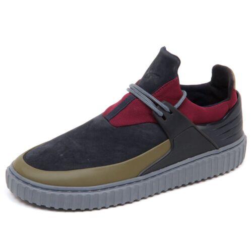 Uomo Creative Shoe Blu Sneaker D4684 Recreation senza verde Man nero scatola qf0FtPwzR