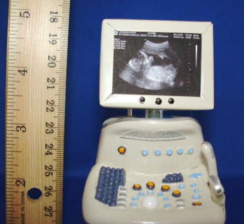 Doll miniature handcrafted Medical Hospital ultrasound machine TOY 1//12th scale
