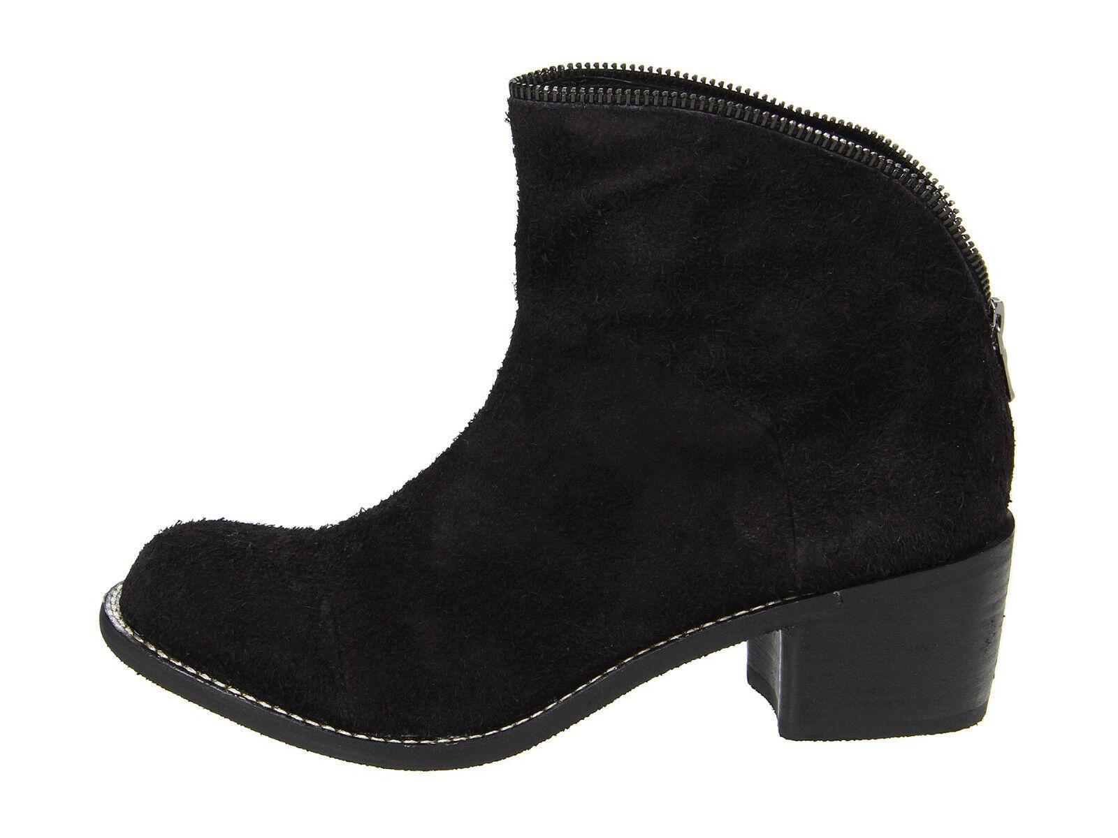 Diseñador Joe's Jeans Flavia botas en de ante negro cuero nuevo en botas caja NIB al por menor  225 397b42
