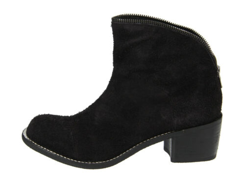 Designer Joe/'s Jeans Flavia Boots Black Suede Leather New in Box NIB Retail $225