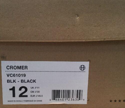e uomo BNib bianco taglia scamosciato scamosciato velour Cromer da 11 Huf Scarpe autentiche nero g0q5zwA