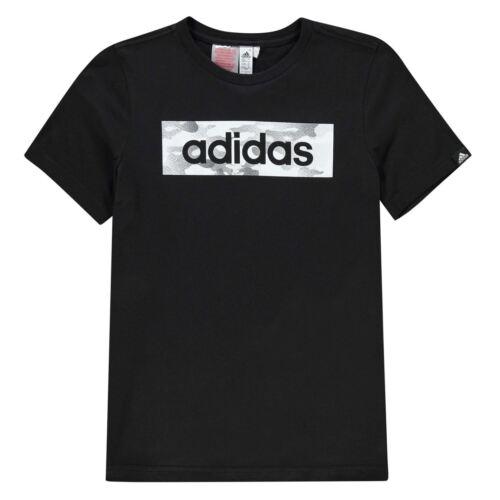 NEW-2019 Adidas Junior Boys Short Sleeve Camo ton Box t Shirt Top Size Age 7-16