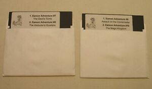Eamon-Adv-Disks-7-8-9-10-for-Apple-II-Plus-Apple-IIe-Apple-IIc-IIGS