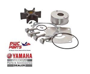Yamaha Water Pump Rebuild Kit w Housing Fits MANY 150 175 200 HP 6G5-W0078-A1-00