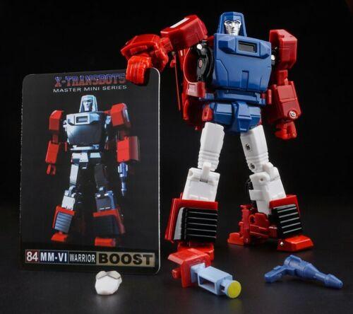 Em Estoque Novos X-TRANSBOTS Transformers Mm-Vi Boost Windcharger Boneco Versão Toon