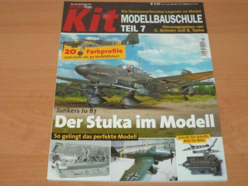 ModellFan Kit Sonderheft  Modellbauschule Teil 7 aus 2018