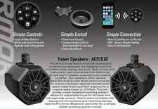 PRO ARMOR TOWER SOUND SPEAKERS & WIRELESS BLUETOOTH POLARIS RZR 1000XP TURBO XP
