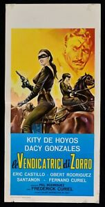 Plakat Die Rache Von Zorro Kity De Hoyos Dacy Gonzales Curiel L82
