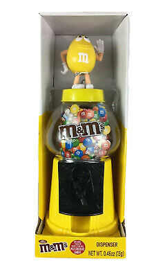 "2019 M/&M/'S RED CHARACTER LIMITED EDITION 12/"" GUM BALL GLOBE CANDY DISPENSER"