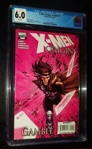 X-MEN ORIGINS: GAMBIT #1 2009 Marvel Comics CGC 6.0 FN White Pages