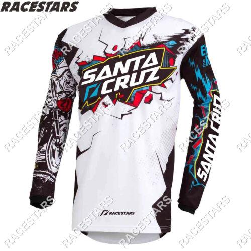 Santa Cruz Downhill Cycling Mountain Jersey Off Road MTB MX Bike Motocross Sport