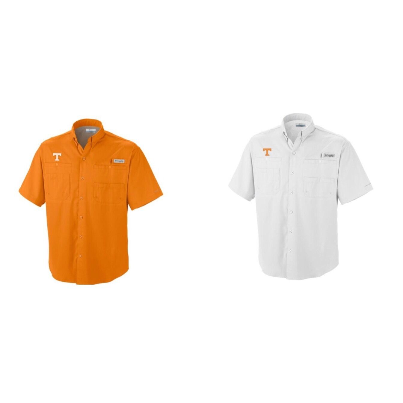 NWT Columbia  Men's Collegiate Tamiami Tennessee Vols SS Shirt Sz  S & M RP   55  all in high quality and low price