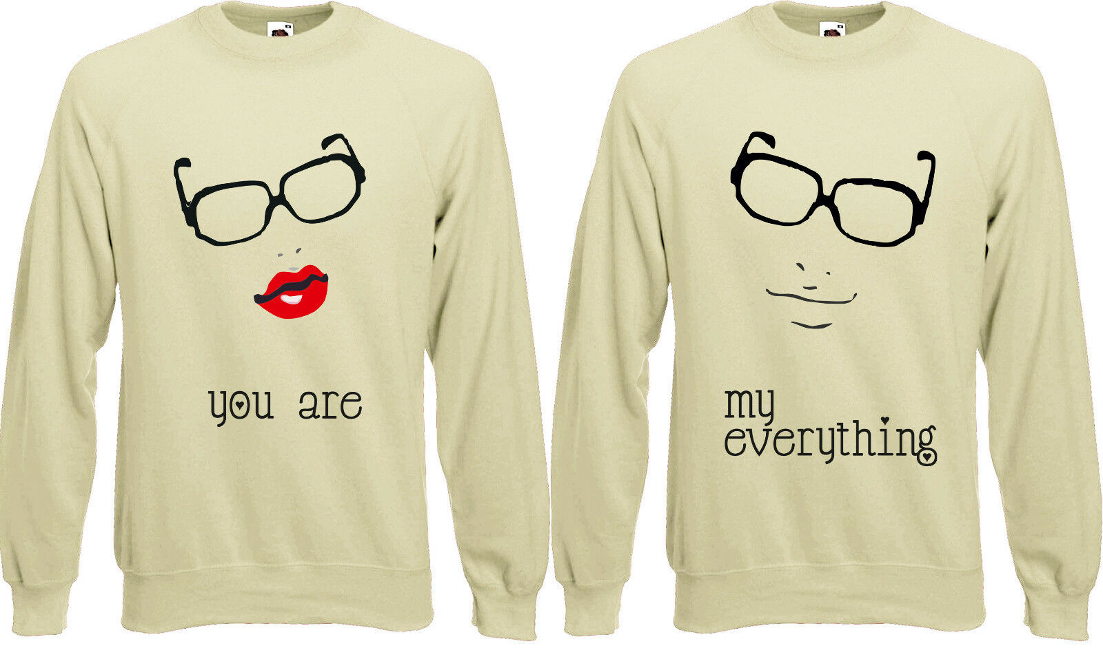 You are my everything Love Couples valentines Jumper Sweater Pullover AJ39