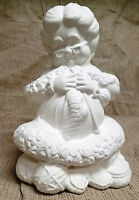Ceramic Bisque Med Mrs Santa Atlantic Mold 907 U-paint Ready To Paint