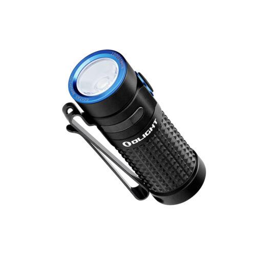 2 Batteries Bundle Olight S1R II Baton 1000 lumen rechargeable LED flashlight