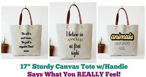 c45247097cb Details about Fun Club Canvas Tote Bag 17