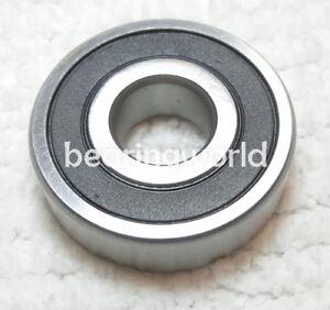 Double Sealed 7550lbf Static Load Capacity WJB 6000-2RS Series Deep Groove Ball Bearing 8900lbf Dynamic Load Capacity 75mm ID 20mm Width WJB 6015-2RS Deep Groove Ball Bearing 115mm OD Metric