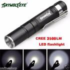 4000LM Zoomable CREE XM-L Q5 LED Flashlight 3 Mode Torch Super Bright Light Lamp