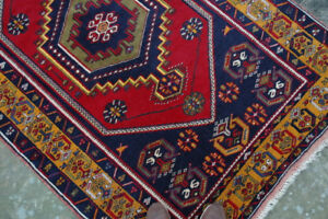 New-handmade-Turkish-rug-from-Cappadocia-yellow-red-and-blue-192cm-x-118
