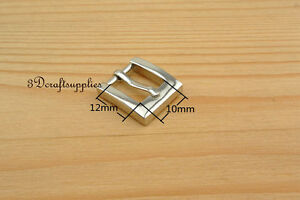 belt buckle hardware pin Zinc Heel Bar buckle 1//2 inch 1.3cm gold 10 pcs U215