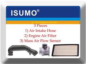 3 Pieces Air Intake Hose+Mass Air Flow Sensor+Air Filter FIts: Ranger Explorer