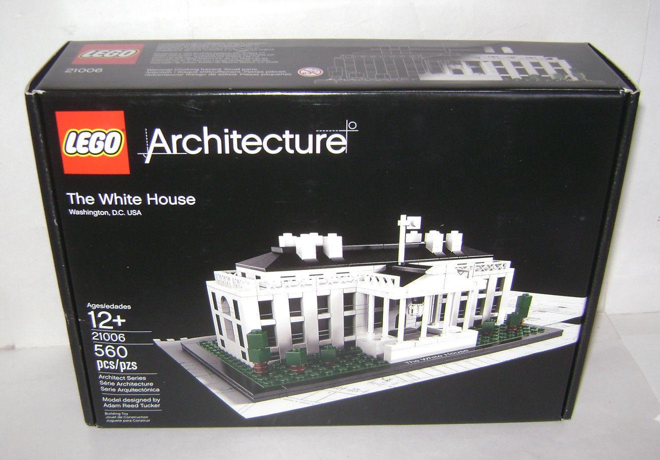 Nuevo 21006 arquitectura de LEGO juguete de construcción de la Casa blancoa Caja Sellada un jubilado