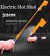 Yellow Hot Shot Prod Shocker Handle Cattle Swine Prod 32cm Shaft New