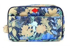 fiore toeletta oleoso Borsa cosmetica da con bagno Borsa da SwUpwxPF