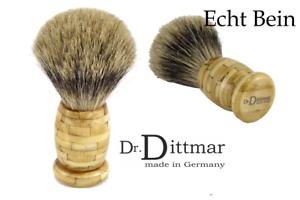 Dr-dittmar-Brocha-de-afeitar-depilar-el-pelo-Tejon-Mango-Genuino-kamelbein