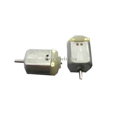 10Pcs 130rpm DC Motor DIY Small Toy Motor 3V to 6V