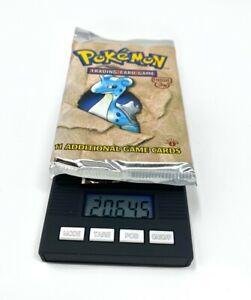 Pokemon-1st-Edition-Fossil-Booster-Pack-Sealed-Lapras-20-645-Heavy