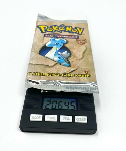 Pokemon 1st Edition Fossil Booster Pack Sealed Lapras 20.645 Heavy!!🔥
