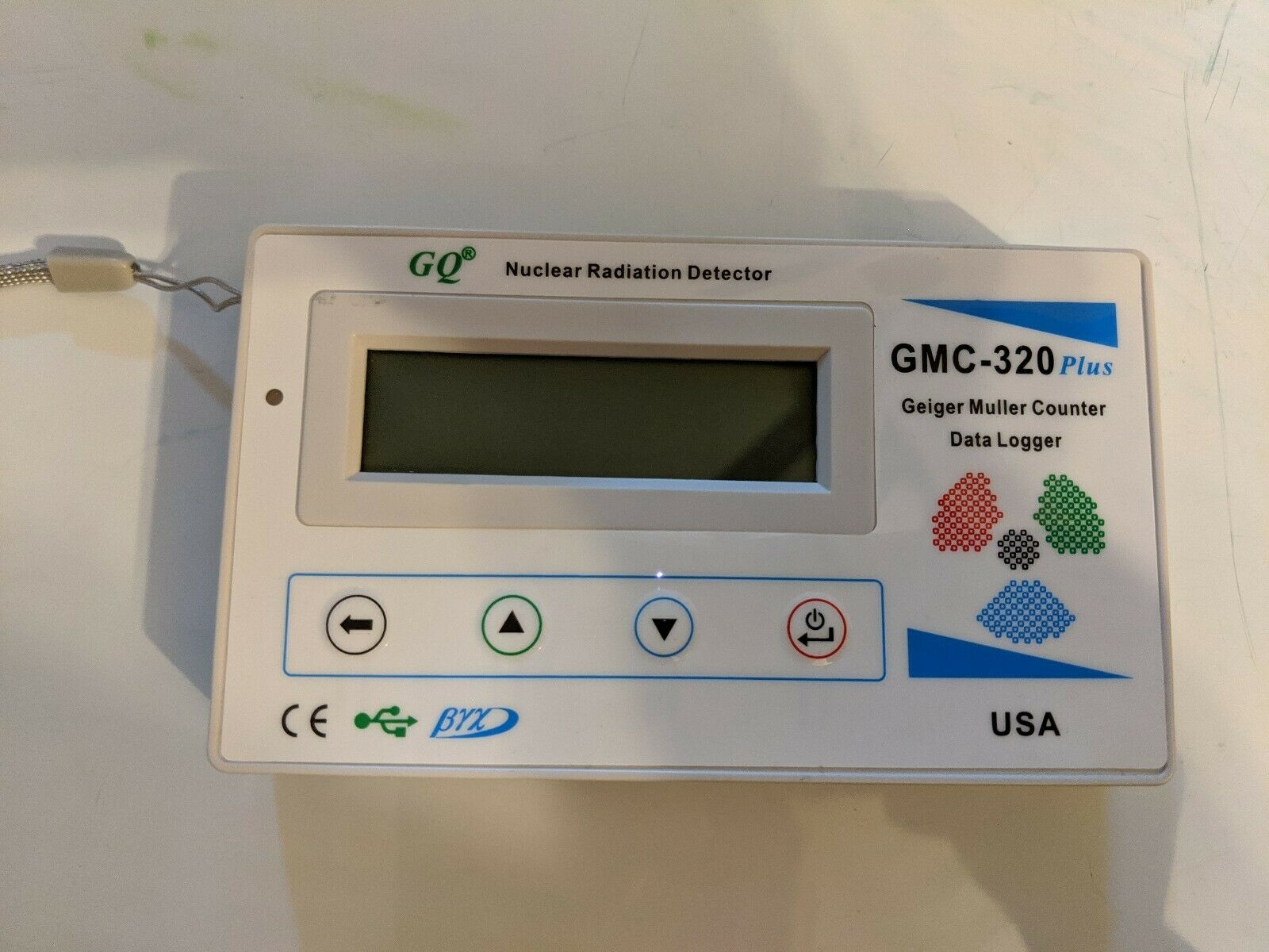 s l1600 - GMC-320 PLUS GEIGER COUNTER RADIATION DETECTOR GQ ELECTRONICS