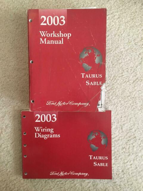 2003 Ford Taurus Sable Workshop Manual  U0026 Wiring Diagrams
