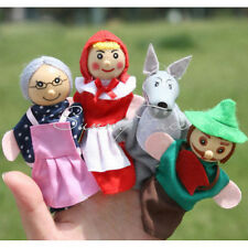 New Hot Sale Little Red Riding Hood Finger Puppets Toy Baby Dolls Funny I