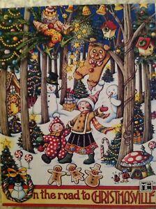 Christmas-Mary-Engelbert-Blank-Cards-Inside-8-Cards-7-Envelopes-CHRISTMASVILLE
