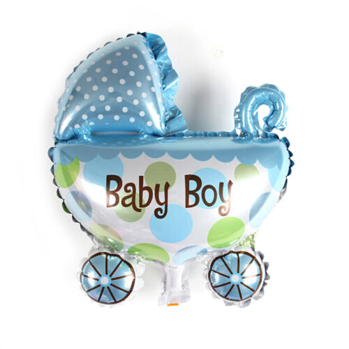 1PC Kids Birthday Foil Balloons Baby Stroller Helium Balloon for Party DecODCA