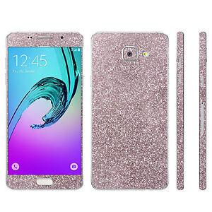 Glitzerfolie-Samsung-Galaxy-A3-2016-Skins-Glitter-Bling-Schutz-Folie-Designfolie
