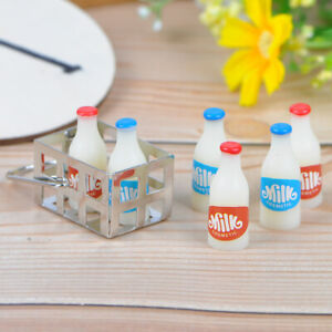1-12-Dollhouse-miniature-metal-milk-basket-with-6pcs-bottles-set-for-dolls-hBDA