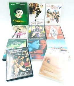 Gros-lot-de-DVD-Amelie-Poulain-Klaphish-Dirty-Dancing-etc