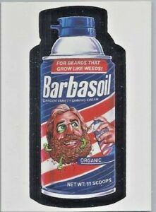 WACKY-PACKAGES-Promo-Card-BARBASOIL-WACKY-PACKAGES-OLD-SCHOOL