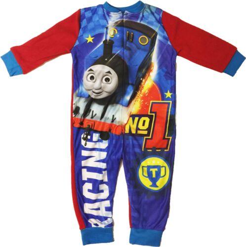 Thomas The Tank Engine Sleepsuit Sleepwear Pyjamas Sizes 1.5 to 5 Years