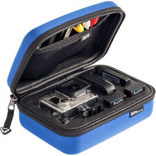 GOPRO SP STORAGE CARRY CASE SMALL BLUE FOR HERO HD 2 3+ 4 CAMERAS & ACCESSORIES