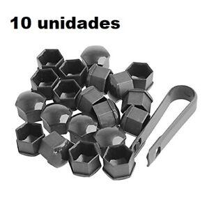17 mm 20 tapones cromados para rueda de Recambo tapas para tuercas